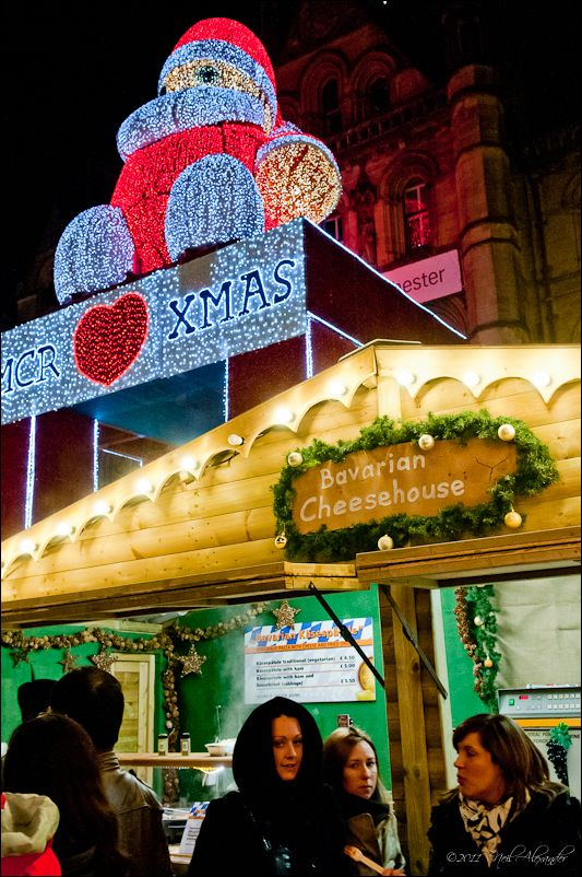 European Christmas Markets, Albert Square, Manchester