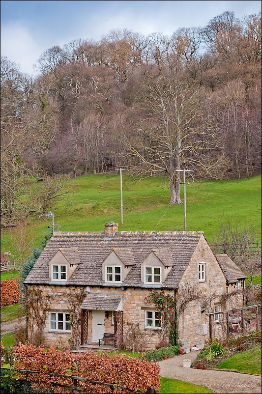 Cottage in the village of Buckland, Cotswolds