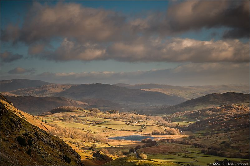 Looking over Little Langdale