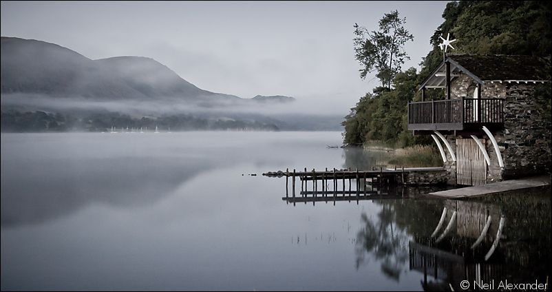 Boathouse at Pooley Bridge, Ullswater