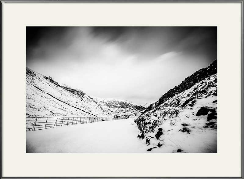 Kirkstone Pass in the snow