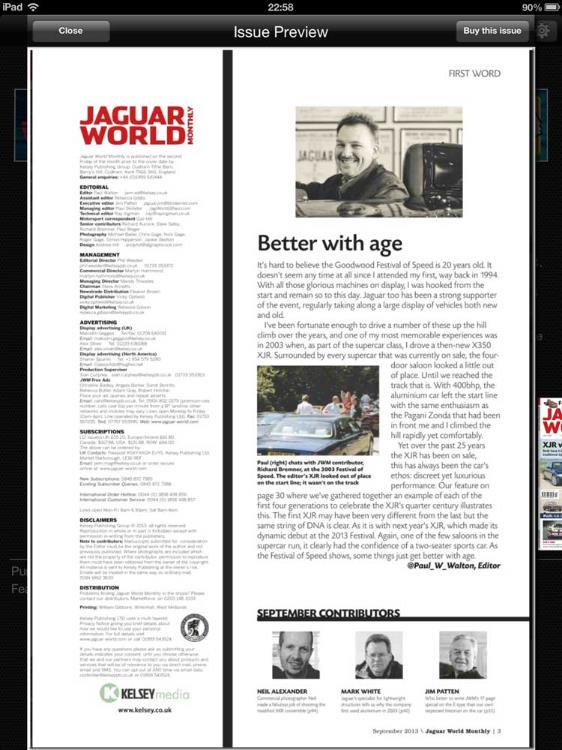 Neil Alexander - September Contributor to Jaguar World Magazine