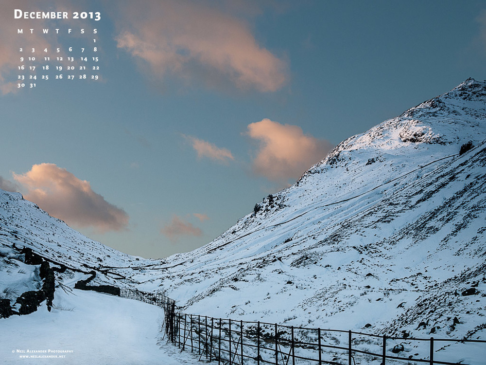 Desktop Wallpaper for December 2013