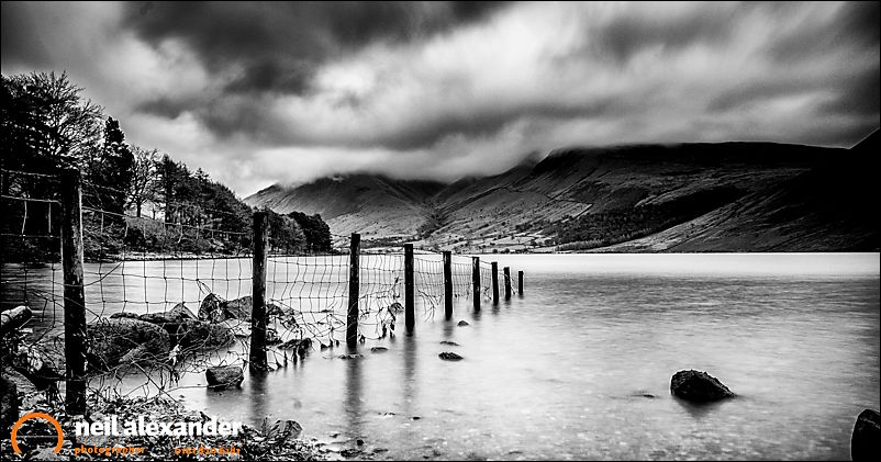 Wast Water, Scafell is in there somewhere