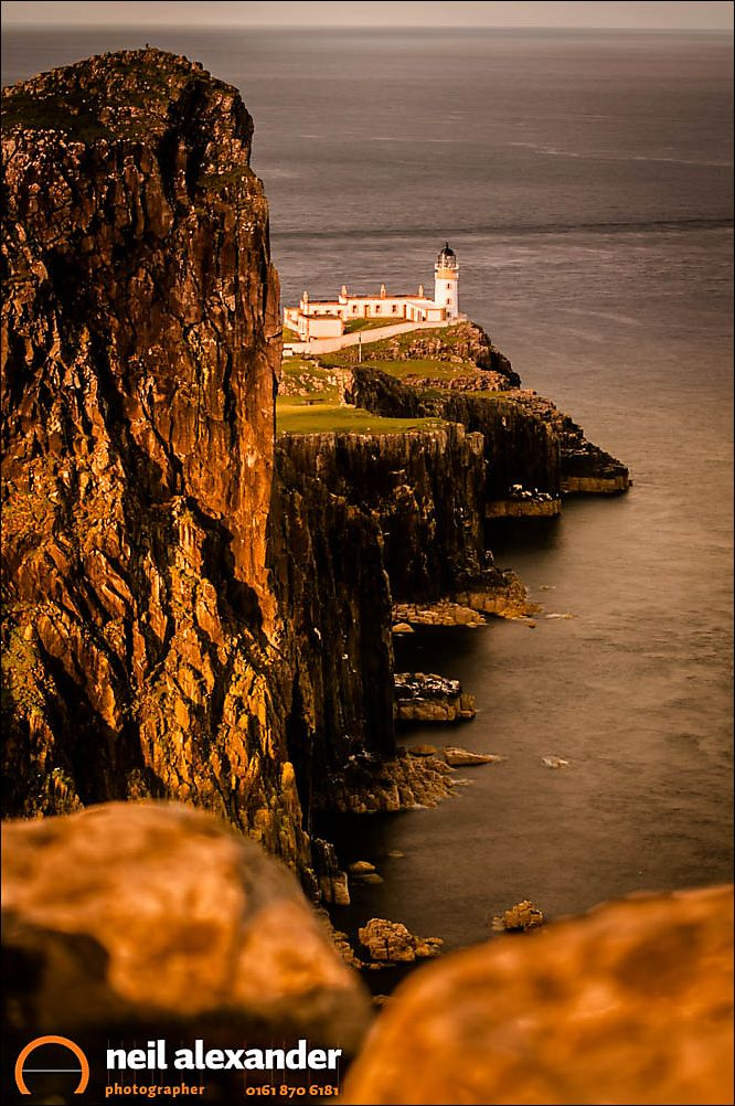 Neist Point lighthouse on the Isle of Skye. One half decent morning of light if memory serves and that was it, but what an amazing place. My first trip proper here in 2013 and there's already a return trip in the diary for later this year.  Blog post here .