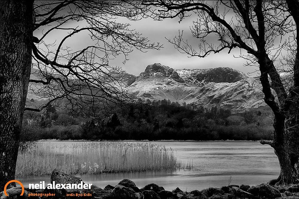 Calm, cold and imposing - Elter water and Lingmoor Fell, Lake District