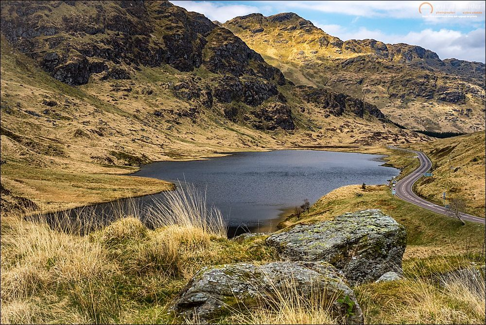 Loch Restil from Rest and be Thankful