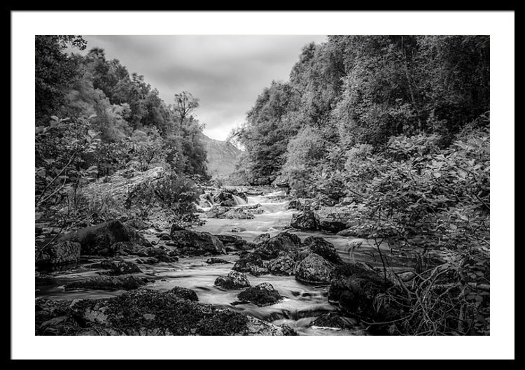 River Moriston on its way down from Loch Cluanie