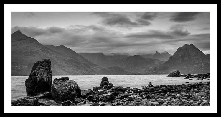 Egol and the Cuillin Hills, Isle of Skye, Scotland, UK