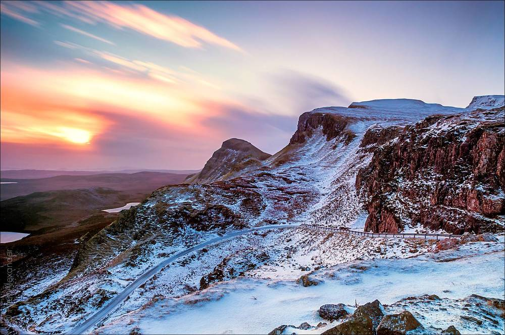 The Quiraing just after dawn