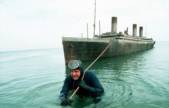 Up From The Depths: Raise The Titanic's miniature liner