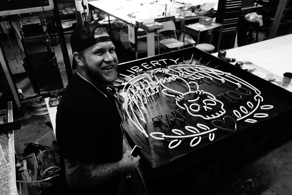 Blaze and his masterpiece.  Follow him @Blaze_Pearson