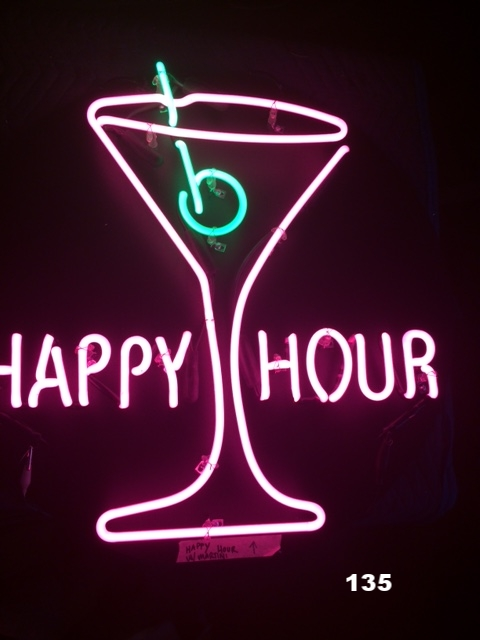 HAPPY HOUR W/ MARTINI GLASS