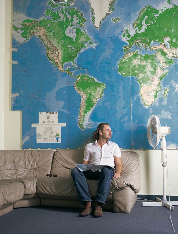 Thommy Tritsch, Künstler und MORGEN Studio Mitbegründer.