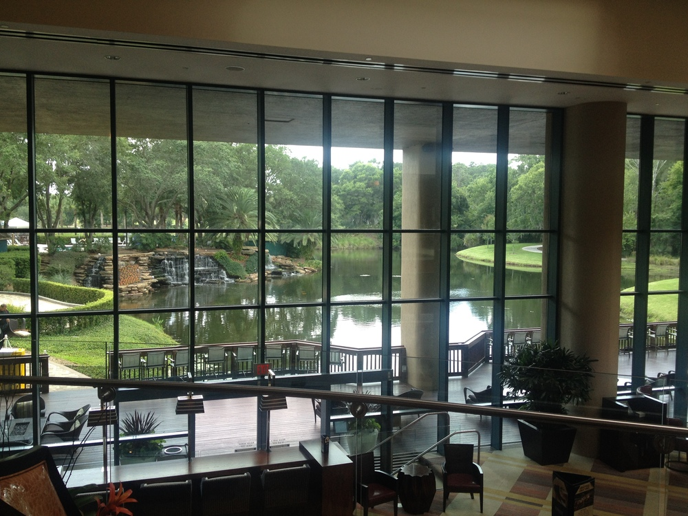 Sawgrass Marriott lobby