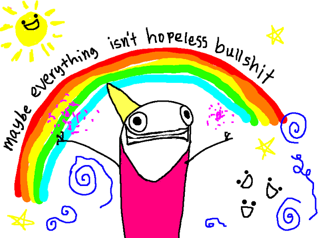 A panel of Depression Part 2 by Allie Brosh.