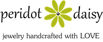 Peridot Daisy Wire & Gemstone Jewelry
