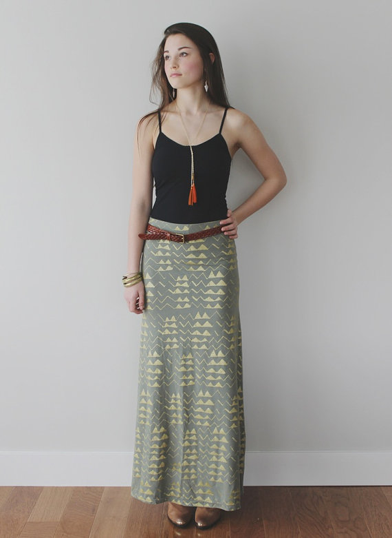 Maxi skirt by  Thief & Bandit.  I own this skirt and I am obsessed with it.