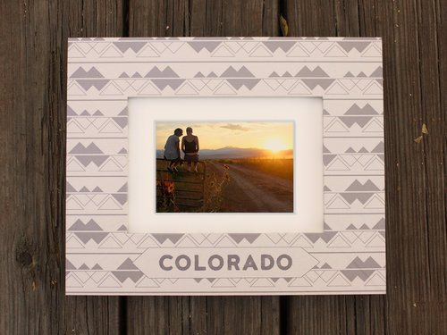 Colorado Picture Frame — Craftbelly Paper & Pattern
