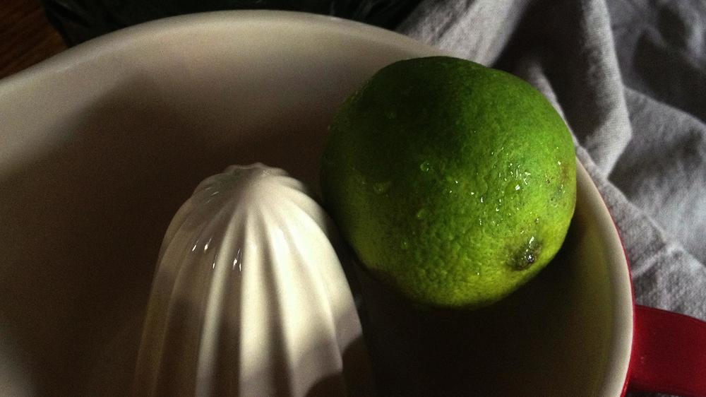 outtake: juicing limes