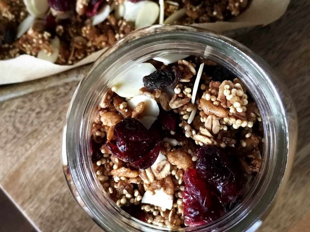 Granola: in a jar