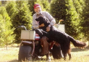 Ralph Heft and Bailey, Courtesy of the Skagit Valley Herald