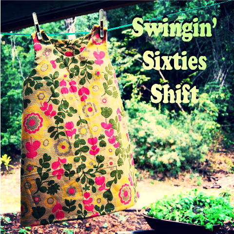 Sew a Swingin' Sixties Shift