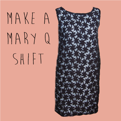 Photo tutorial for Mary Q Shift Dress