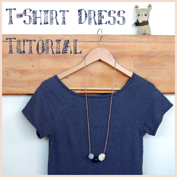 T Shirt Dress Tutorial