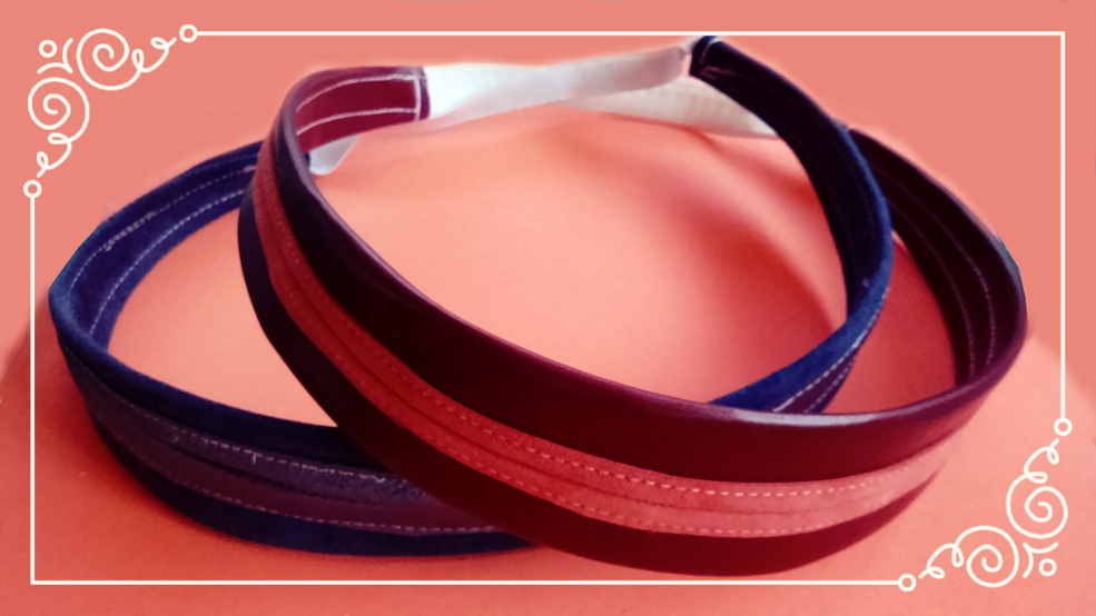 Leather hairbands sew up in a jiffy.  Try Megan Nielsens free  Boab hairband  pattern