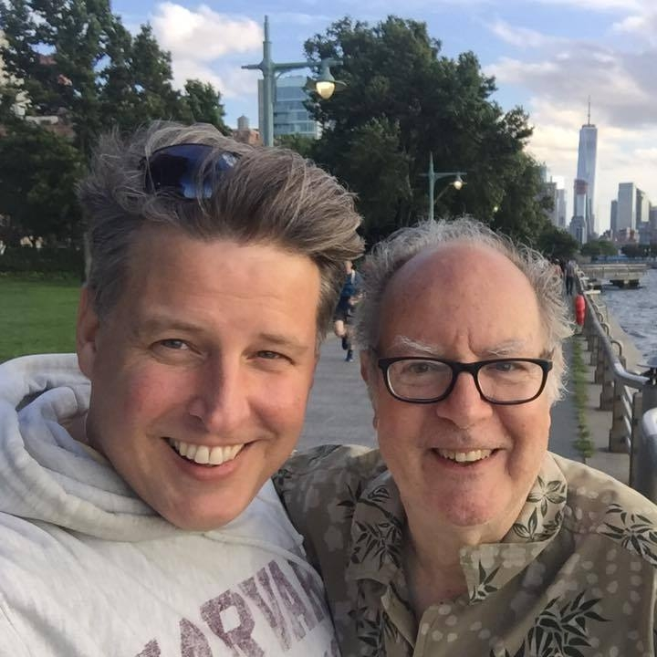 With Maha-Pete on the Hudson in New York - 2017