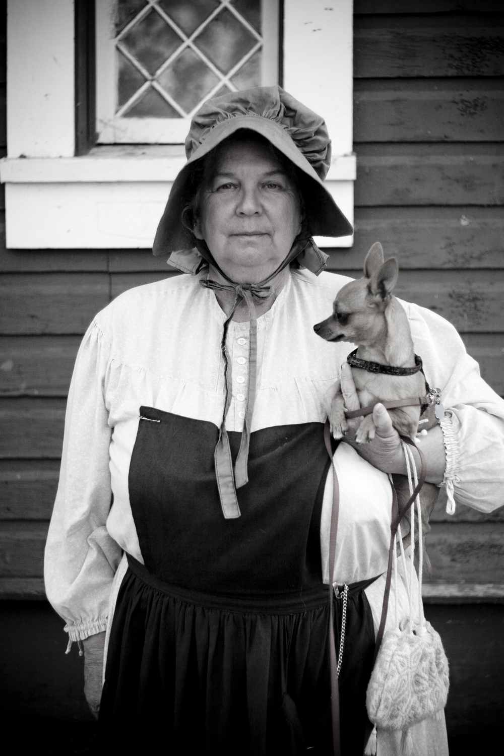 Charlotte Hopkins. Native Oregonian, runaway stagecoach survivor, hater of California, devoted Chihuahua lover.