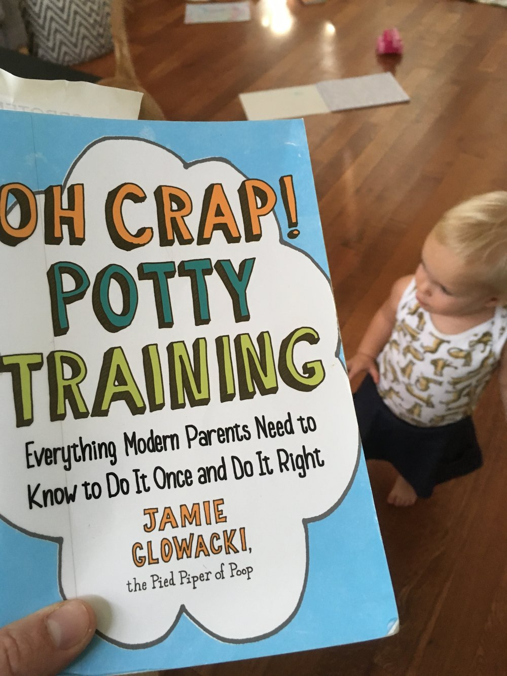 The most practical book I read this year, except that potty training still made me want to tear my hair out. But we made it through!!
