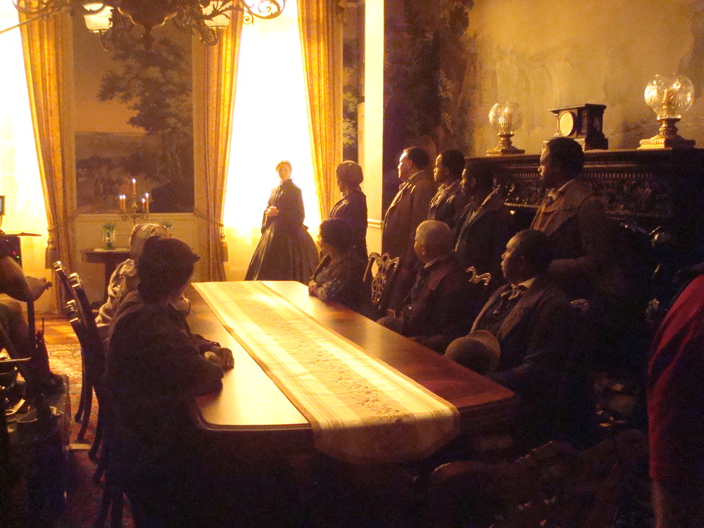 Executive mansion dining room