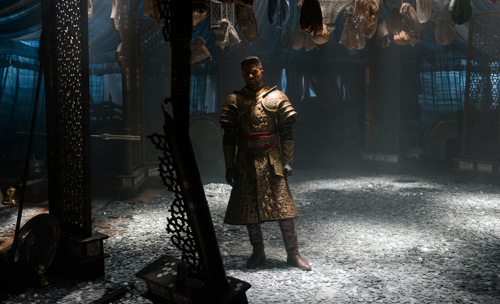 Mehmed's camp - spoils tent