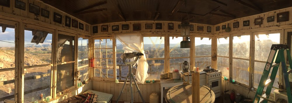 Fire lookout station