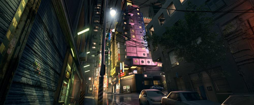 Nagasaki love hotel