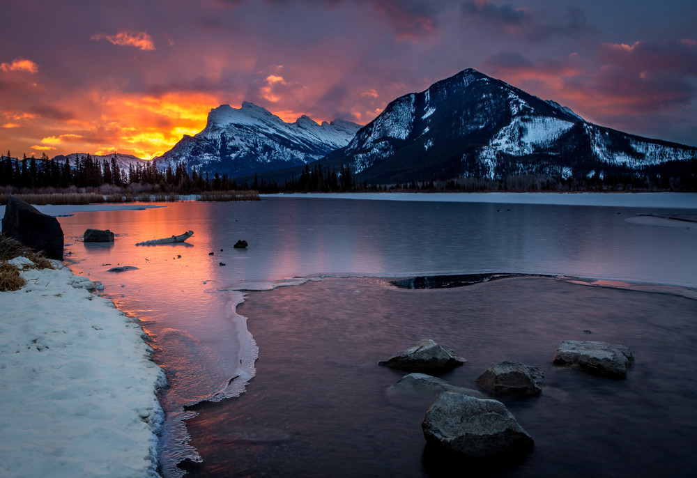 Sunrise, Vermillion Lakes