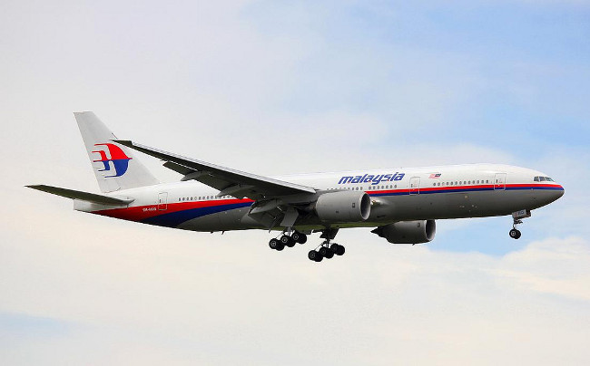 9M-MRO - the Boeing 777 which carried out flight MH370