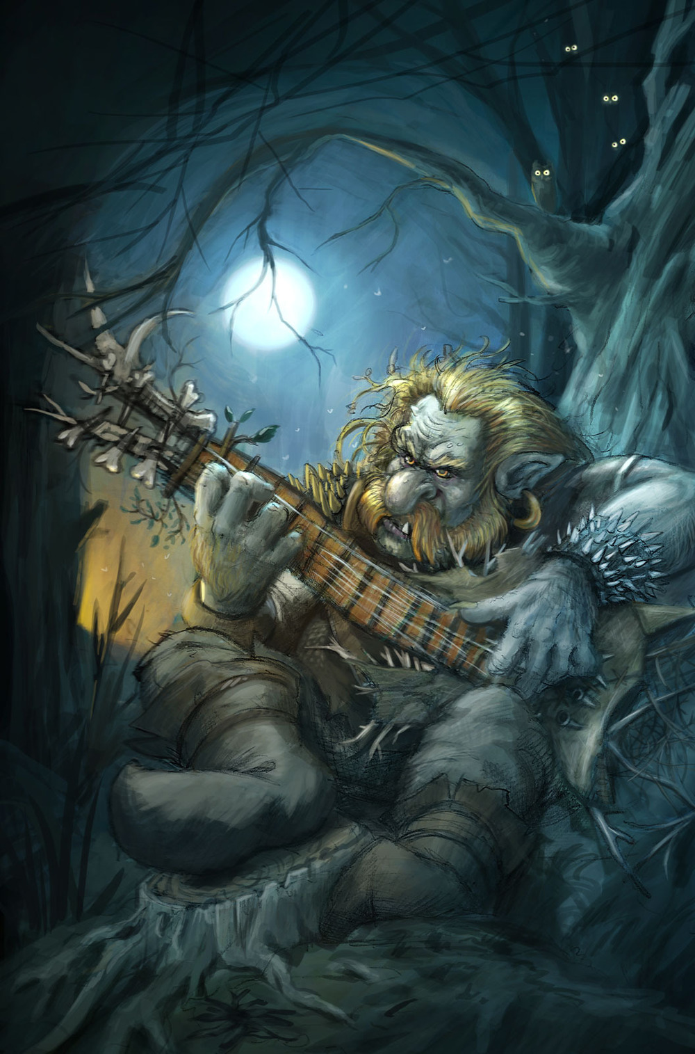 """Guitar Troll"" by Steve Bolduc"