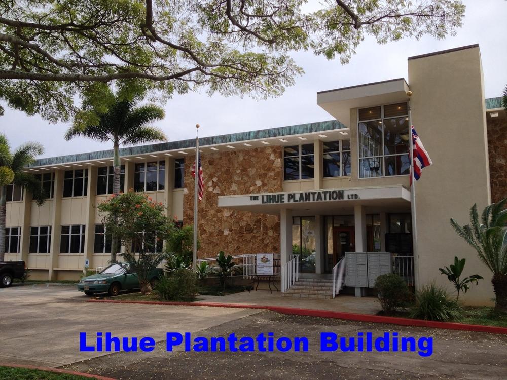 Lihue Plantation Building