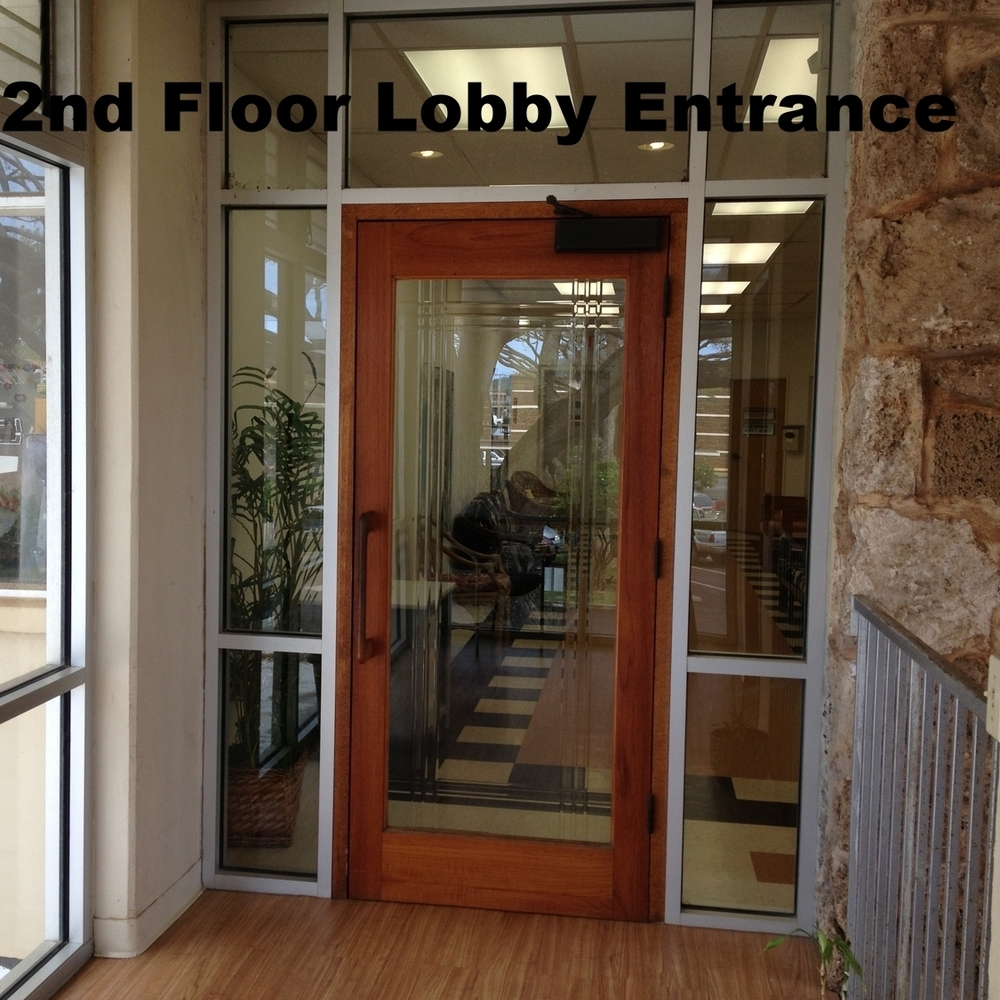 2nd Floor Entrance