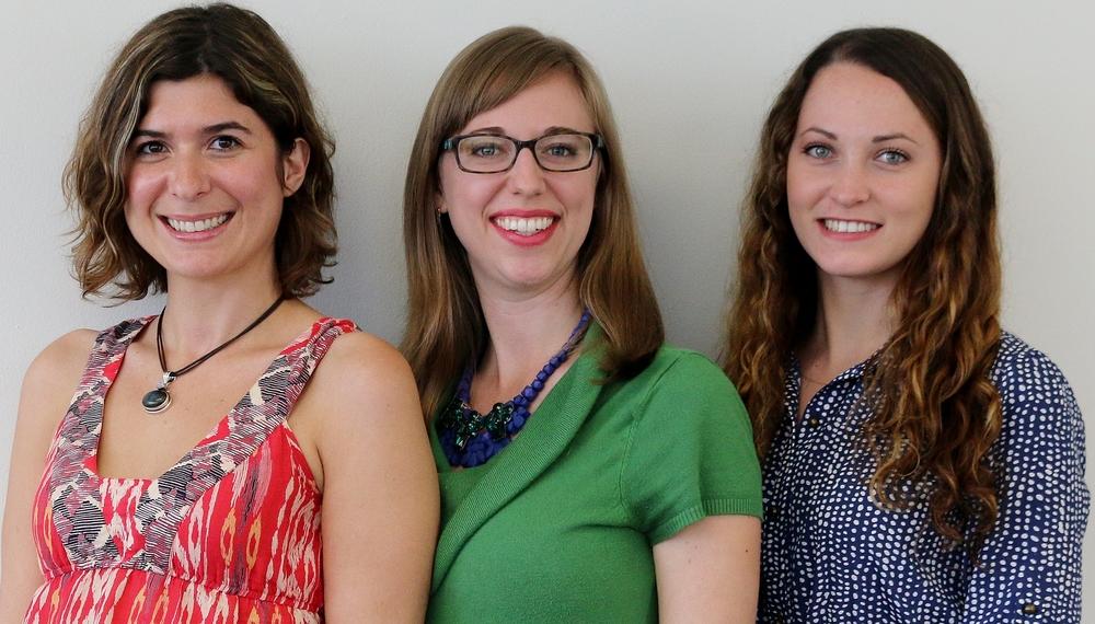 Colette Charvet,Dr. Sarah Simons, Ashley Orr