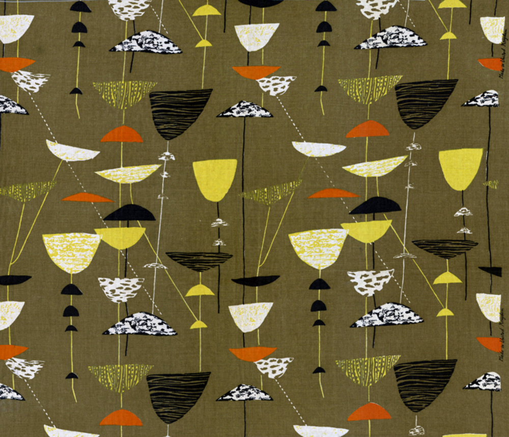 "Lucienne Day ""Calyx"" 1951"