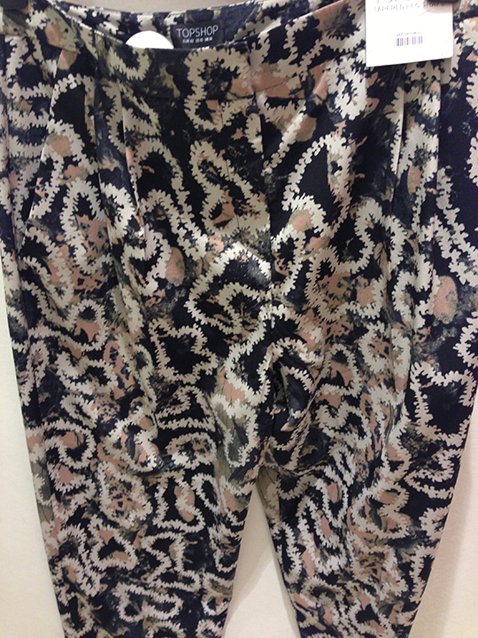 90's printed pants/trousers-non print