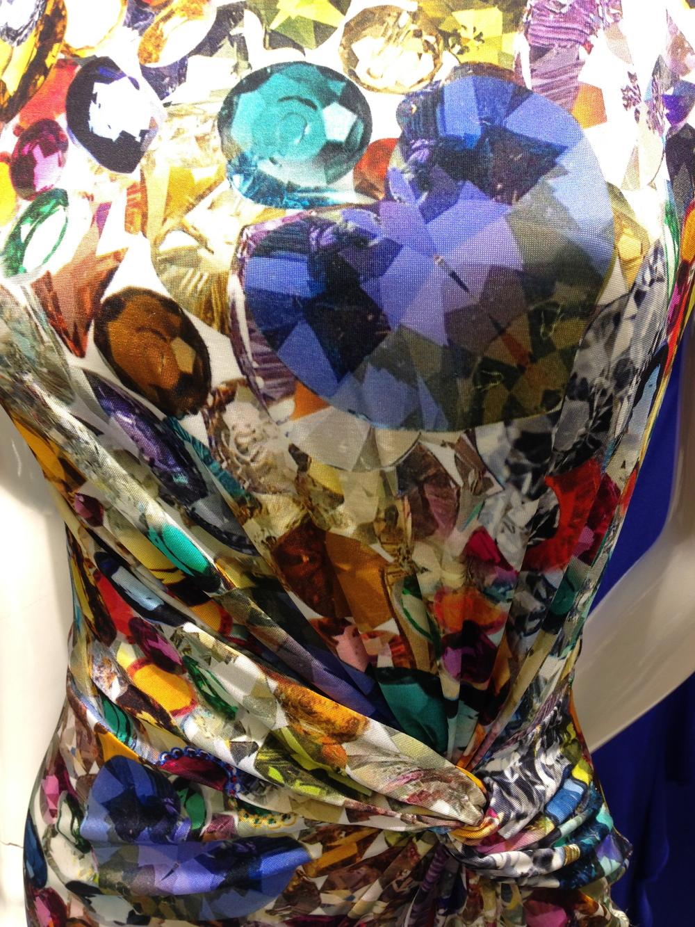 Digital Printed Gem dress