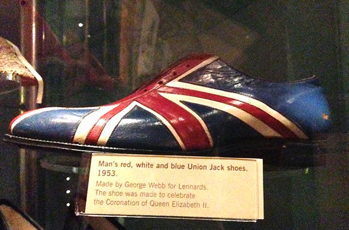 Union Jack Shoe 1953