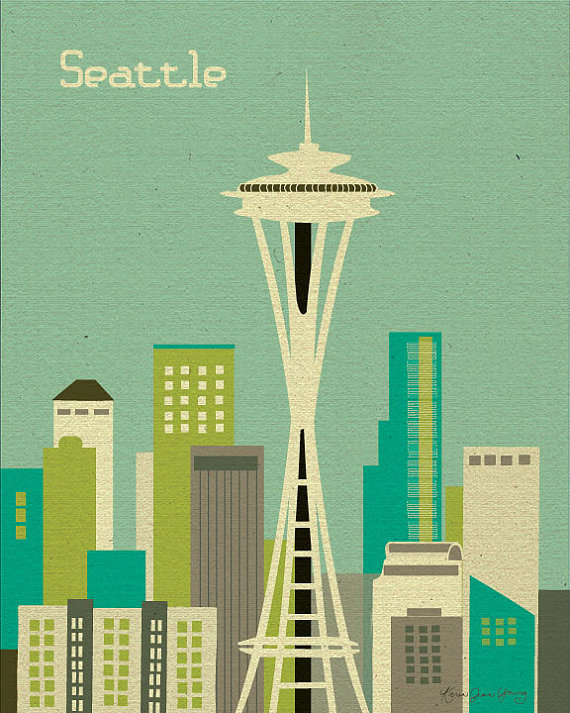 Hello Seattle- Space Needle