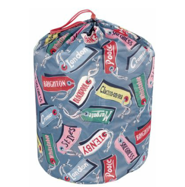 luggage tag sleeping bag  Cath Kidston