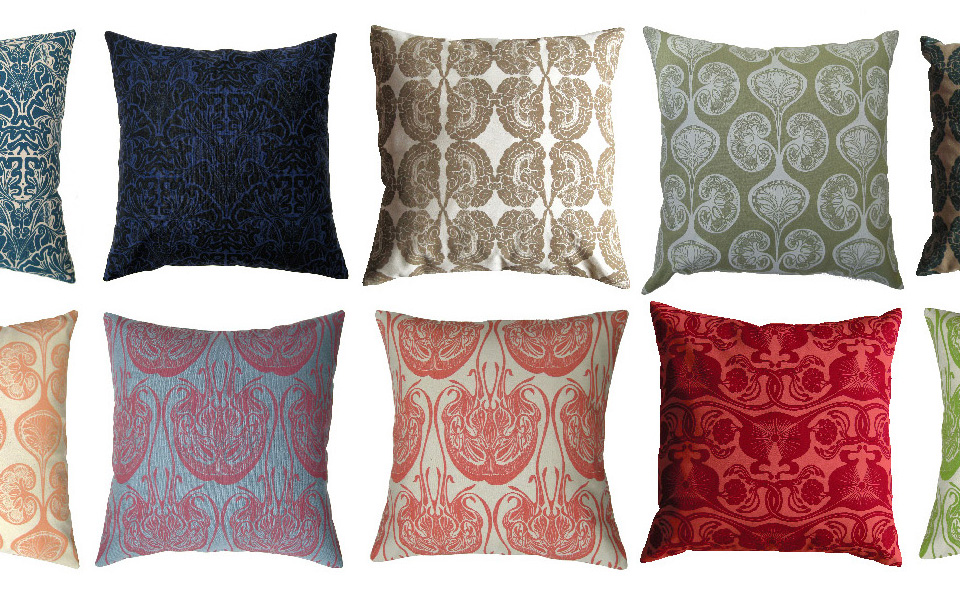 Fanny Shorter Cushions. Designs based on human anatomy.